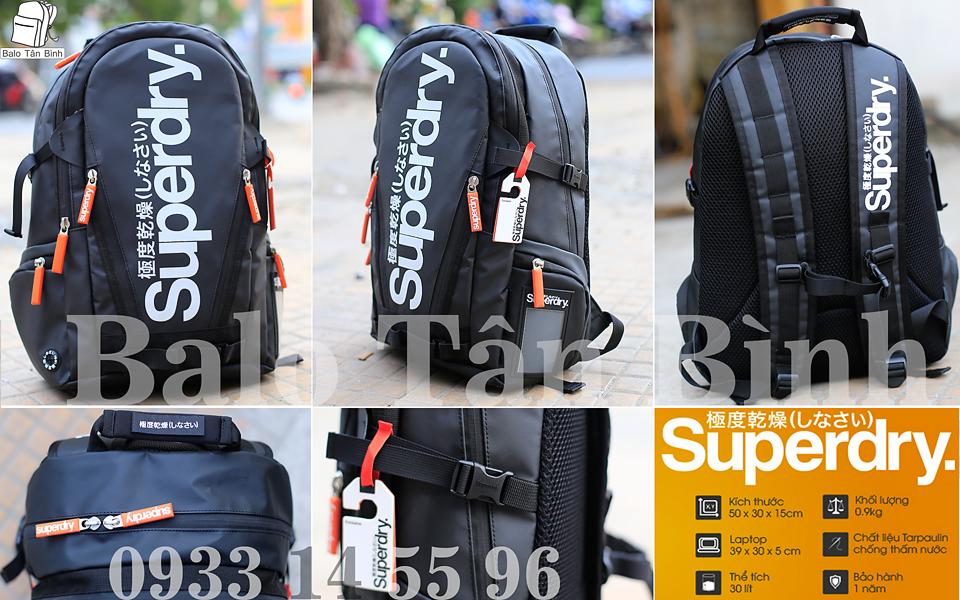 Balo Superdry chính hãng, chỉ bằng 1/2 giá web nè - 3
