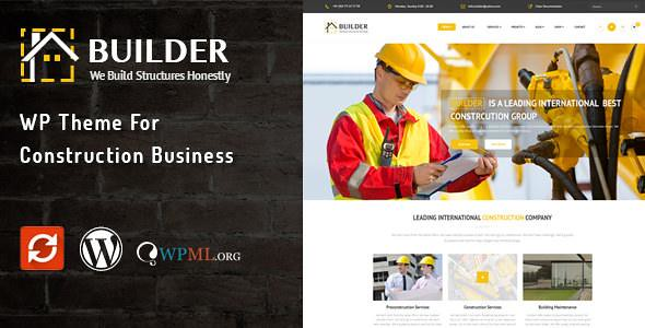 Builder WordPress Theme free download