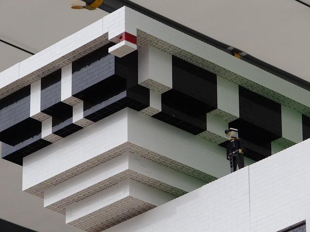 Największy statek z klocków Lego 13