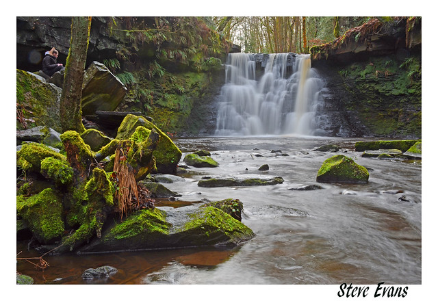 River Aire - Goit Stock Waterfall