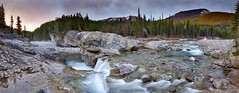 Elbow Falls edit Panorama