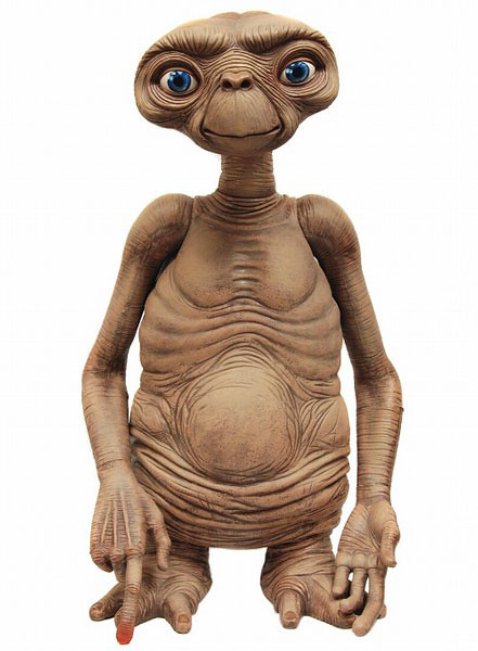 【再次販售】《E.T.外星人》E.T. 「1:1大尺寸」懷念作品再登場!!