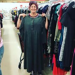 Found my Kimmy Schmidt pre bunker  escape dress.  #prairie #kimmyschmidt  #thriftstorefinds