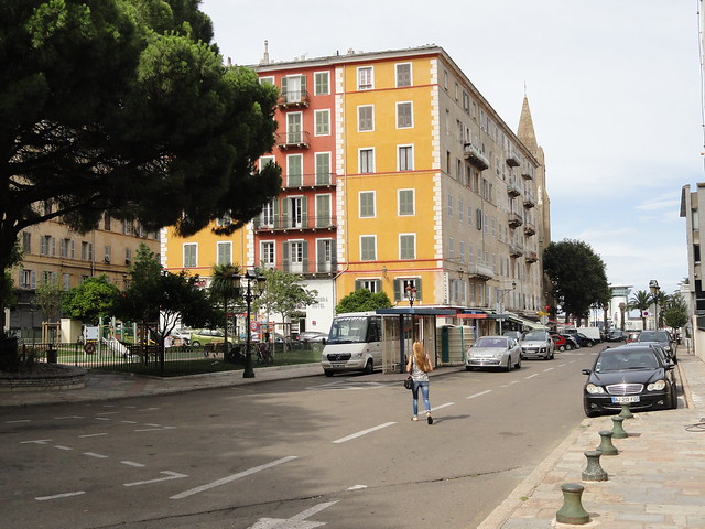 Une rue de Bastia, Sony DSC-H55