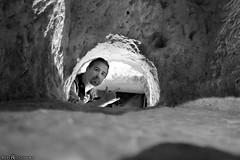 Crawling through catacombs