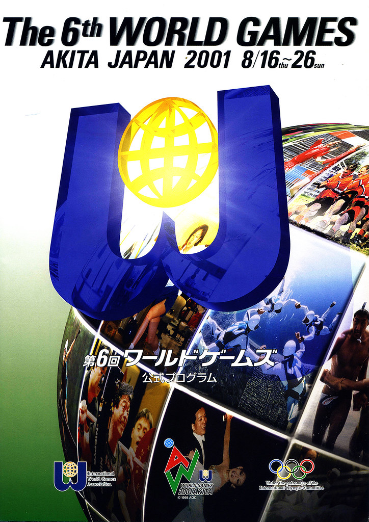 The World Games 2001, Akita (JPN) summary | IWGA