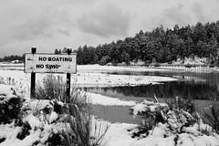 No Boating; No Swim