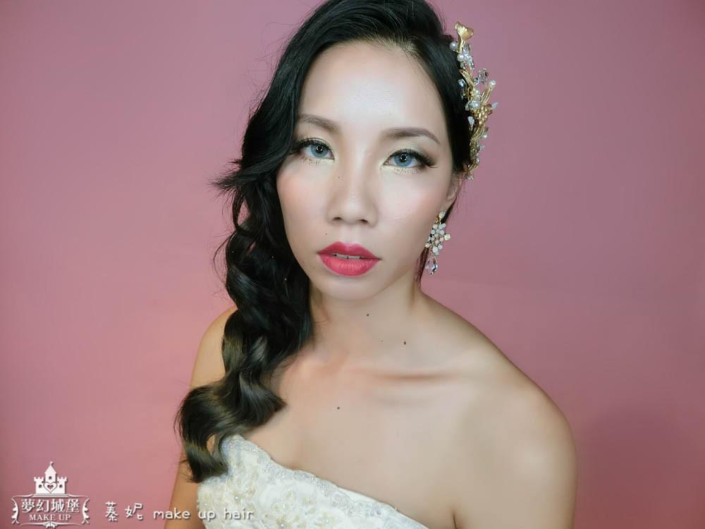 【新秘蓁妮】新娘造型創作 / 歐風側捲髮