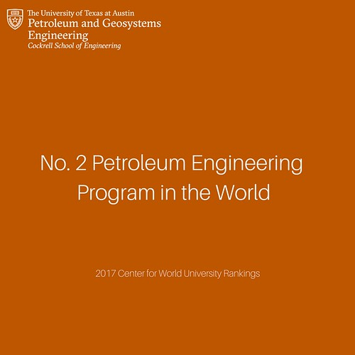 UT PGE ranks as the No. 2 program in the world