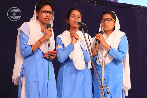 Devotional song by Sewadal Volunteers