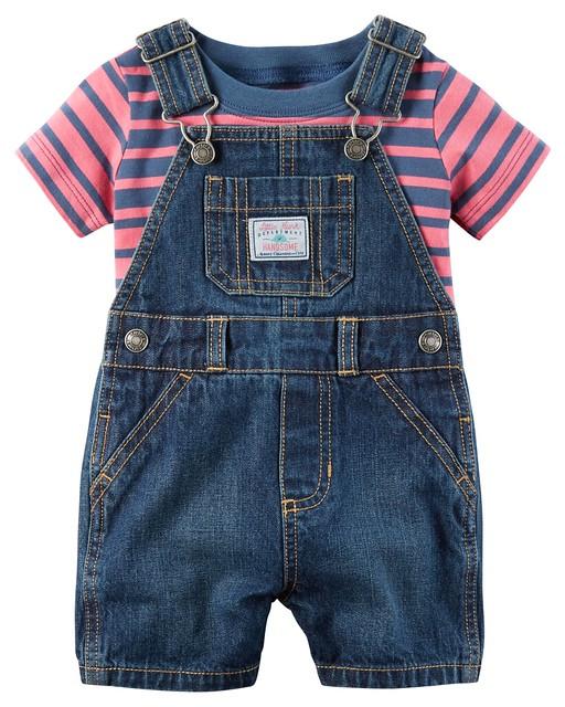 Quần áo trẻ em, bodysuit, Carter, đầm bé gái cao cấp, quần áo trẻ em nhập khẩu, Bộ Yếm Carter's nhập Mỹ 3M-24M