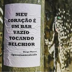 """""""Como é perversa a juventude do meu coração/ Que só entende o que é cruel e o que é PAIXÃO...""""  Salve, BELCHIOR !  #BlogAuroradeCinemalamenta  #blogauroradecinematriste #belchior #musicabrasileira #songs #singer:microphone: #brazil #igersceara #cearense #"""