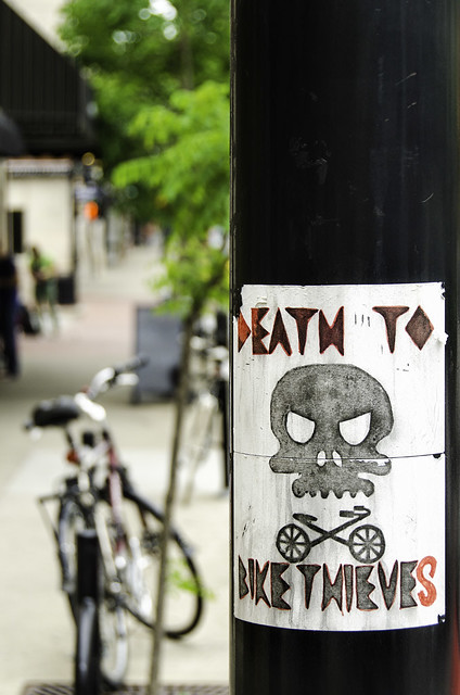 Death to bike thieves