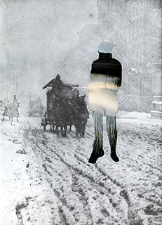 Collage Art by Morgan Jesse Lappin  (Brooklyn, NY): Indian Winter