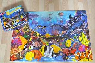 Giant Ocean Floor Puzzle