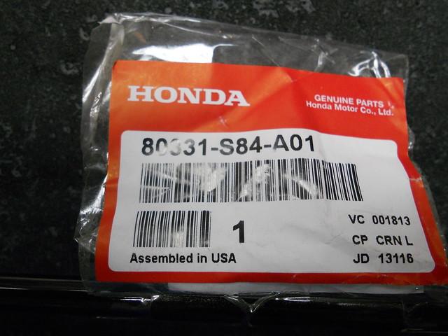 1998 2002 Genuine Honda Accord A C Air Conditioner Condenser Pipe 80331 S84 A01