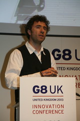 Thomas Heatherwick at the G8 Innovation Conference 2013