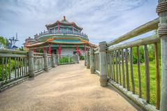 HDR - Norfolk VA pagoda