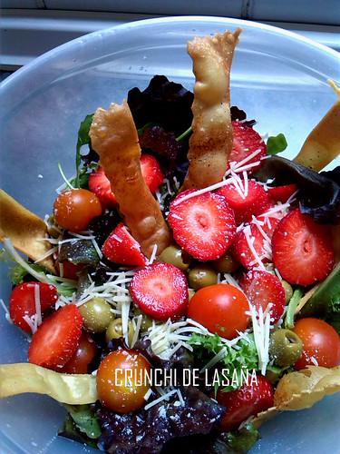 crunchie de lasaña