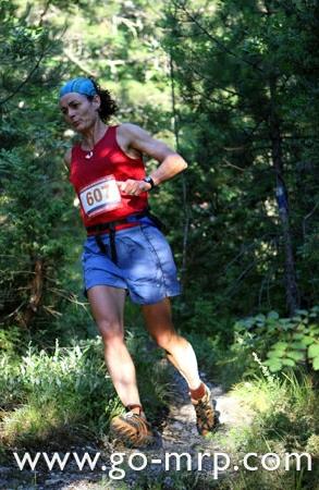 Η Helene Whitaker Diamantides στον Olympus Marathon 2011...