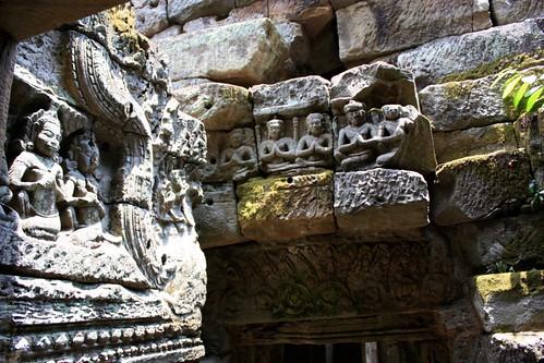 Preah Khan wall ornaments