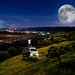 The Photographer, the Kombi and the Super Moon by Kris Kros