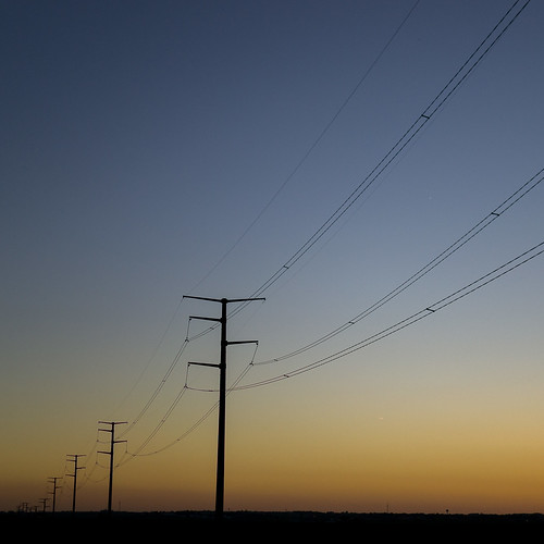 county sunset square iowa powerlines dubuque sdgiere