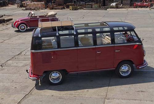 AM-58-18 Volkswagen Transporter Samba 21raams 1967