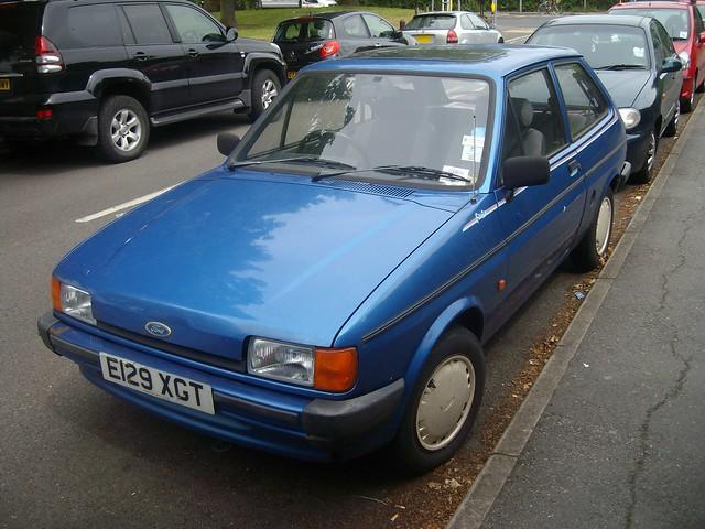 Ford fiesta bonus 1988