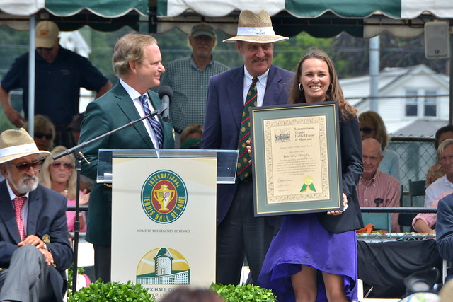 2013 Tennis Hall of Fame Induction Ceremony