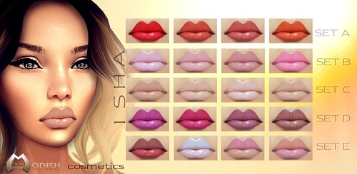 ISHA-Lipsticks @ SL Fashion week by ::Modish::