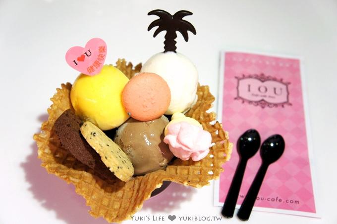 台北美食下午茶┃永康街 IOU Café 冰淇淋 ❤ 創意浪漫新吃法 (捷運東門站)