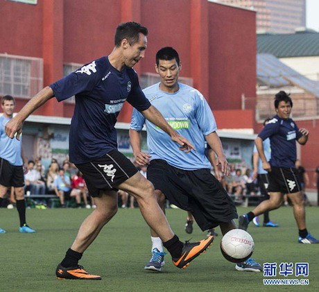 July 15th, 2013 - Jeremy Lin defends Steve Nash at Nash's Foundation charity match