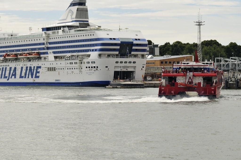 Helsinki Hafengebiet