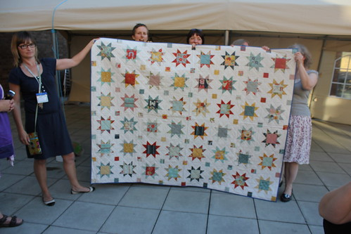 Siblings Together quilts at #fqrlondon 2013