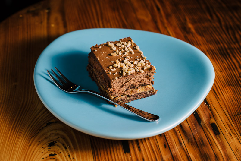 Kurtosh - Peanut butter and chocolate ganache cake