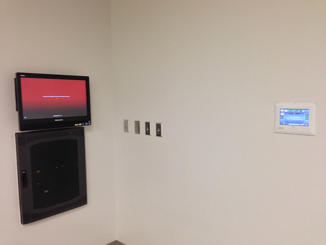 Instructional Equipment mounted in-wall