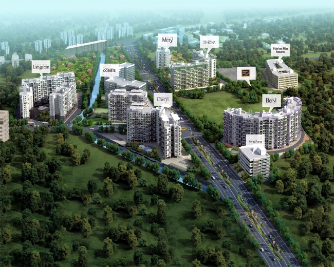 Kolte-Patil Downtown Kharadi Pune Master Plan