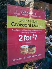 """""""Cronuts"""" at the Food Emporium"""