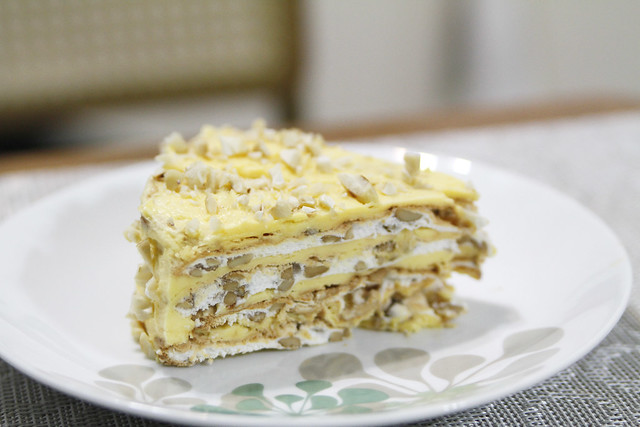 Sansrival Cake From Gold Ribbon