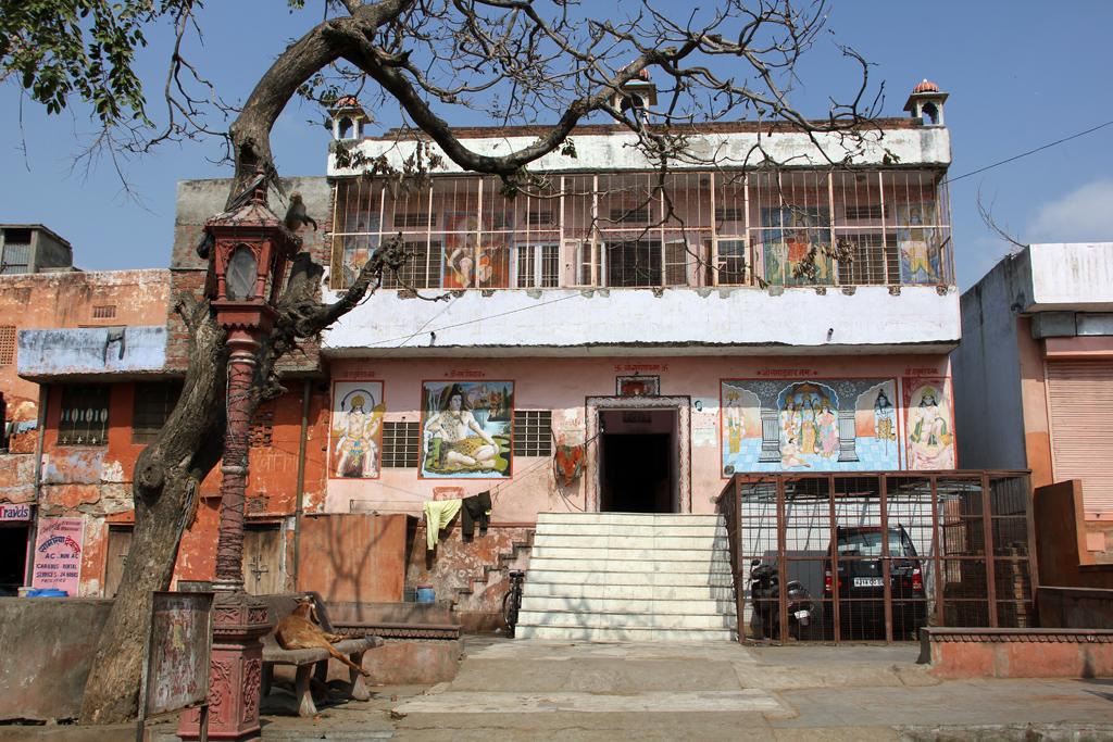 Interesting buildings in Jaipur, India