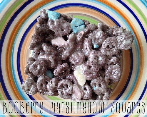 Boo Berry Ghost Squares by Digital Heather