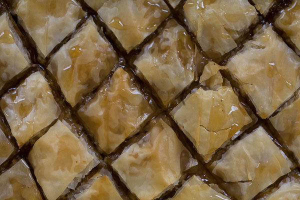 Spiced Pumpkin Baklava with Walnuts and Honey