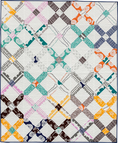 X Marks the Spot - from Becoming a Confident Quilter