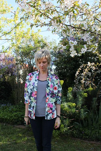Tessuti Tokyo Flower Show Jacket
