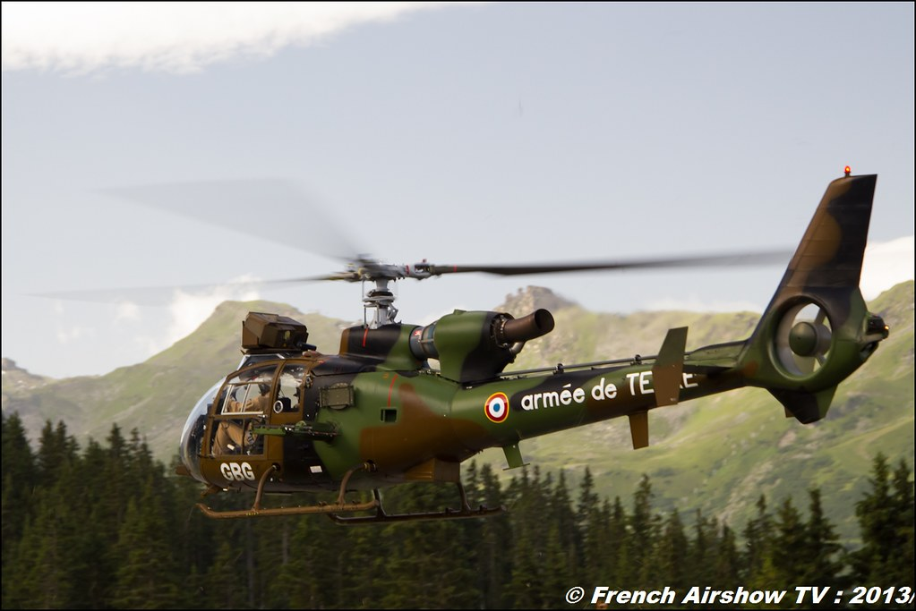 ALAT Gazelle, Meribel Air Show 2013
