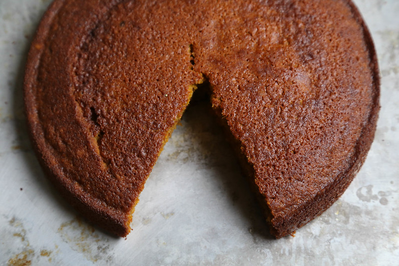 Coconut Squash Cake