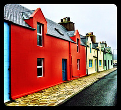 Row of cottages, Scalloway,Shetland #Shetland#camera+ by davidearlgray