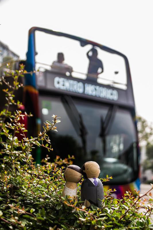 Viajando en Bus por Mexico City