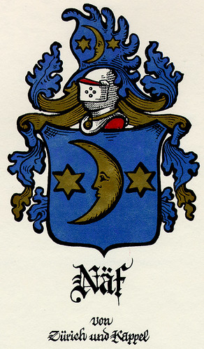 Naf Coat of Arms  - Zurich und Kappel